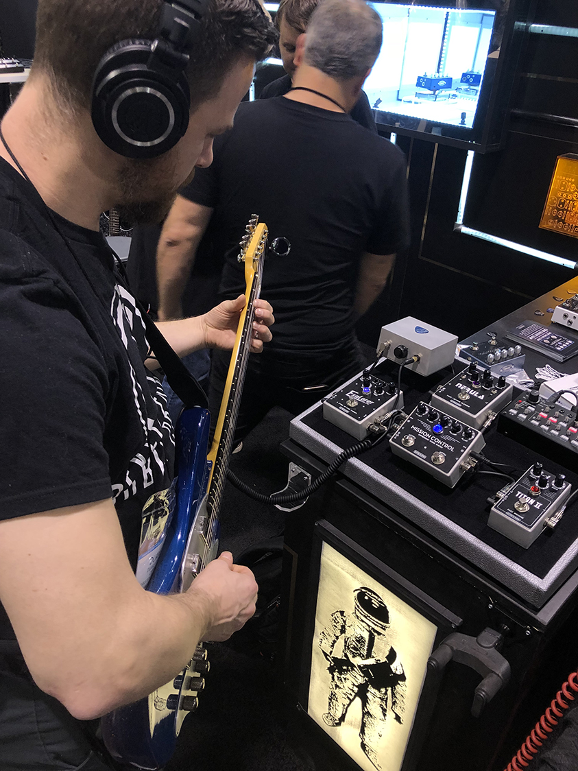 Spaceman Effects NAMM 2019