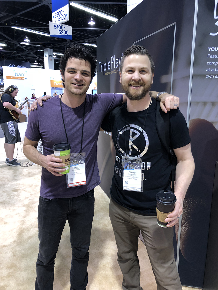 Mark Lettieri NAMM