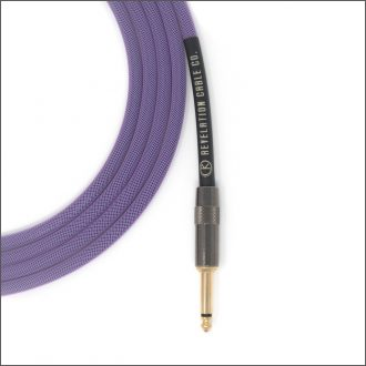 Purple Guitar Cable