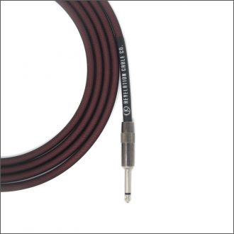 Wine Red Guitar Cable