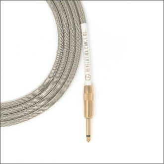 White Gold Tweed Guitar Cable